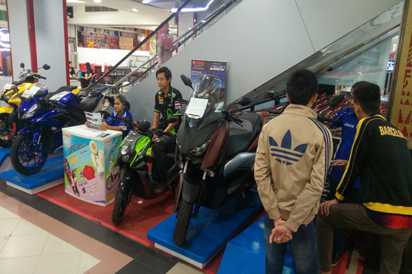 Berburu Yamaha di Chandra Tanjungkarang