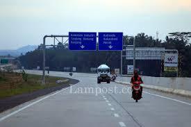 Pembebasan Lahan Tol Sumatera Capai 98 Persen