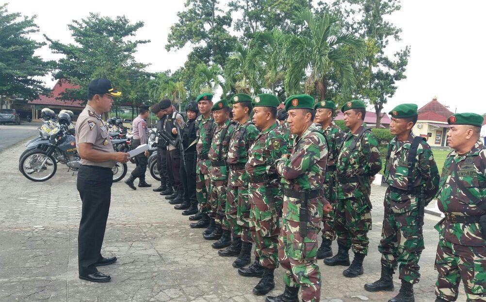 Marak Pencurian Kendaraan, TNI - Polri Patroli Gabungan di Tubaba