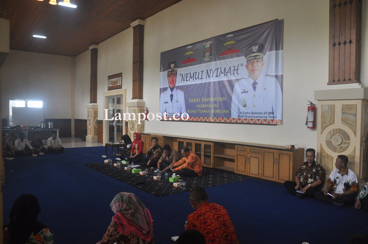 Pemkab Lampung Timur Agendakan Nemui Nyimah Setiap Minggu