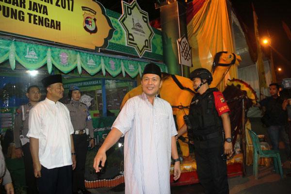 LAMPUNG POST | Rute Kece, Arus Balik Lampung Tengah Relatif Lancar