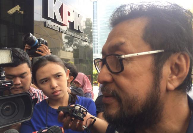 LAMPUNG POST | KPK Panggil Yorrys Terkait Kasus Korupsi KTP-El