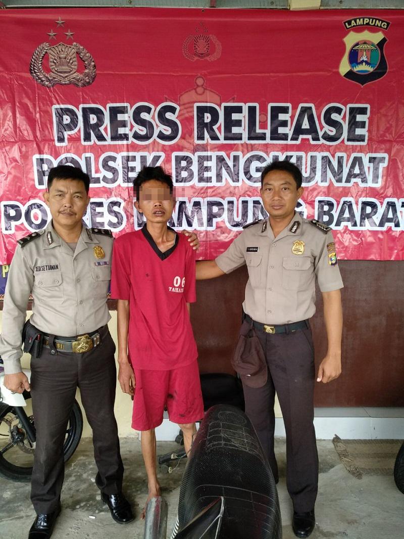 LAMPUNG POST | 30 Menit Setelah Curi Motor, Pelaku Ditangkap
