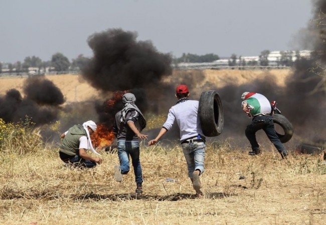 LAMPUNG POST | Pejuang Hamas Tewas dalam Serangan Udara Israel