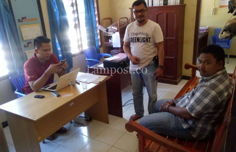 LAMPUNG POST   Polsek Tanjung Raya Bekuk Pelaku Pencurian