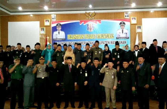 TNI-Polri dan Pemkab Way Kanan Kompak Tolak Hoaks