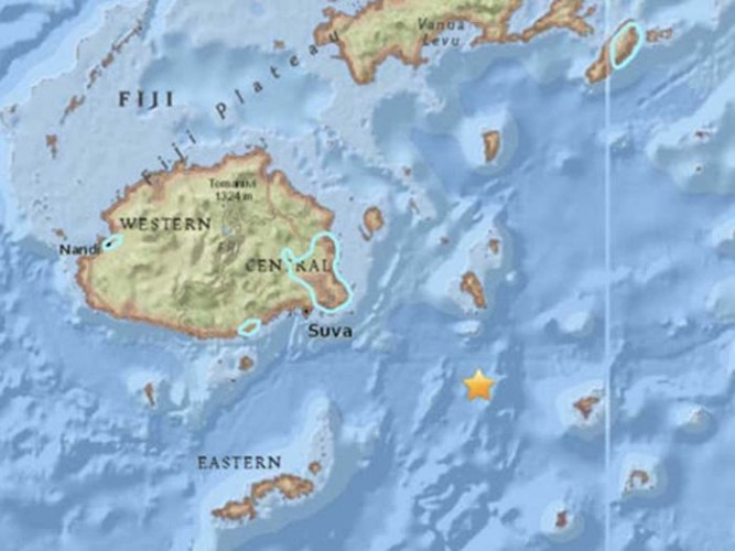 Fiji Diguncang Gempa 7,8 SR