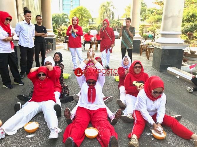 FKPPI Lampung Meriahkan HUT Ke-73 RI dengan Beragam Lomba