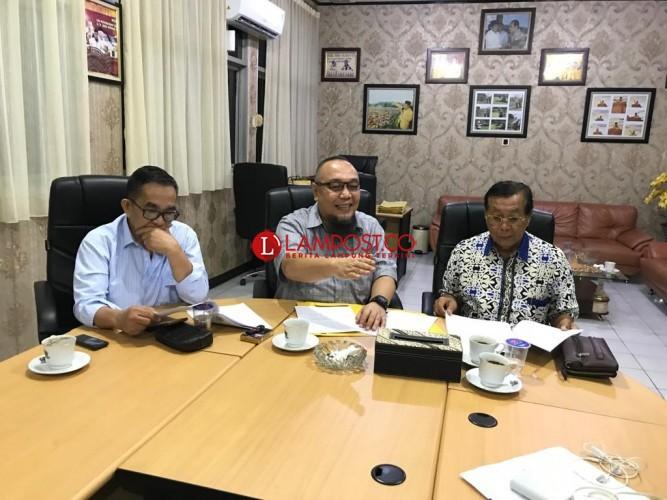 Fraksi Partai Golkar Tolak Lahan Way Dadi Jadi Sumber PAD