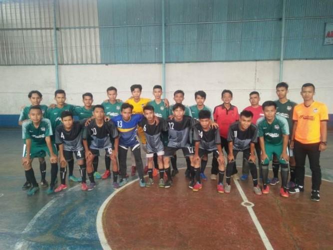 Futsal Penengahan Raya Juara Porcam Kedaton