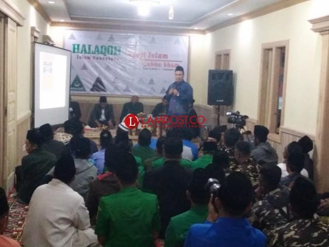 Gerakan Pemuda Ansor Lampung Barat Gelar Halaqoh Islam Nusantara