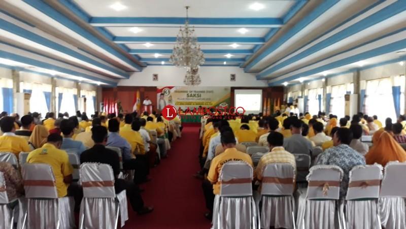 Golkar Kerahkan 31.400 Orang Saksi di Pilgub Lampung