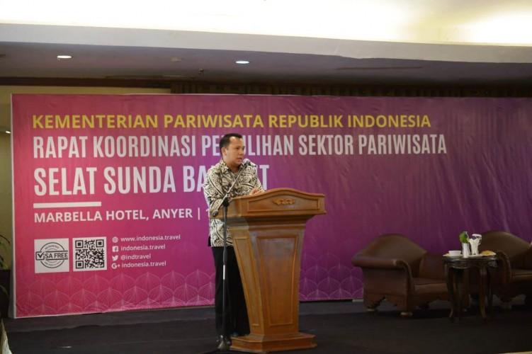Gubernur Lampung Hadiri Rakor Recovery Pariwisata Pascatsunami