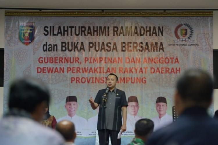 Gubernur Ridho Akui Pembangunan di Lampung Lebihi Target