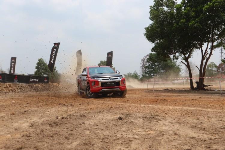 Hadir di Pekanbaru, Mitsubishi Ajak Konsumen Jajal New Triton