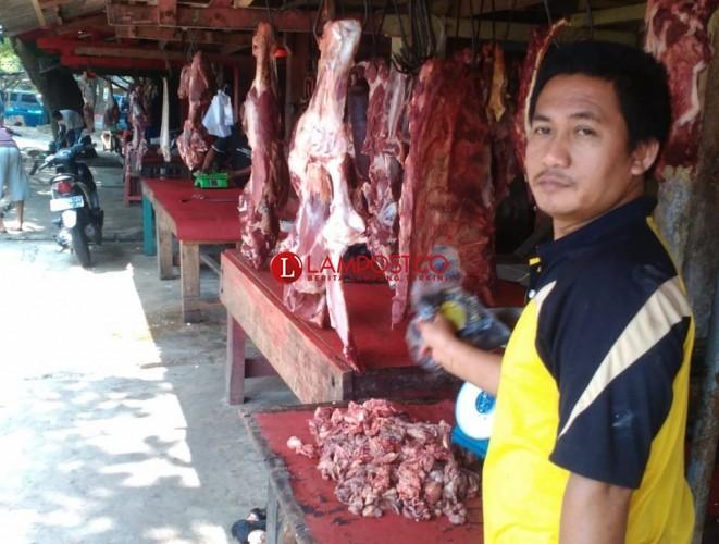 Harga Daging Sapi Mulai Merangkak Naik di Kotabumi