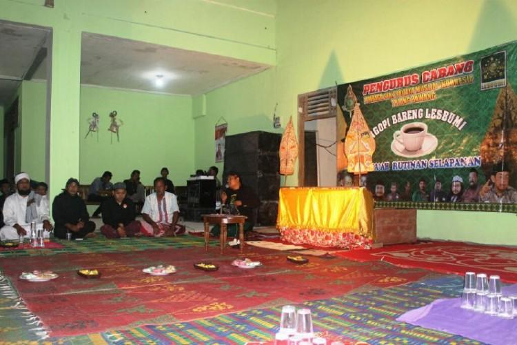 Harlah Ke-93 NU Gelar Lakon Wayang di Tulangbawang