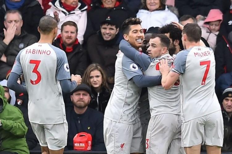 Hattrick Salah Bawa Liverpool Puncaki Klasemen Sementara