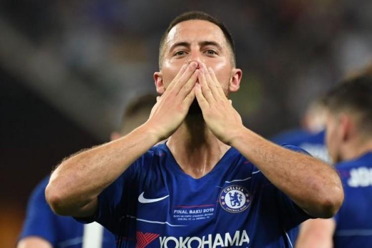 Hazard Ucapkan Salam Perpisahan untuk Chelsea
