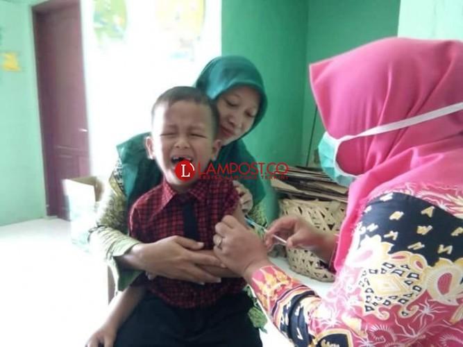 Hingga Hari Kedua Imunisasi MR, Puskesmas Palas Belum Temukan KIPI