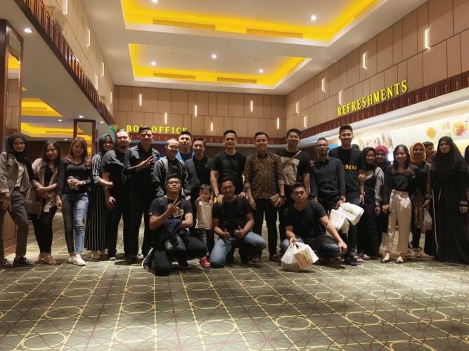 Hipmi Bandar Lampung Nobar Wiro Sableng