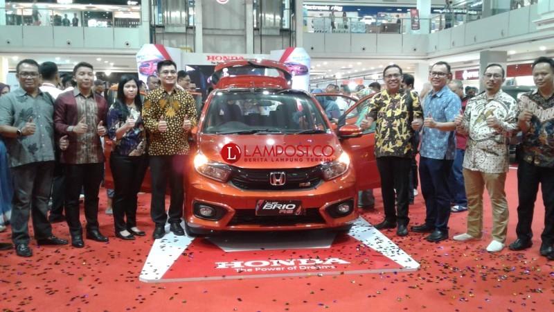 Honda All New Brio Resmi Mengaspal Di Lampung