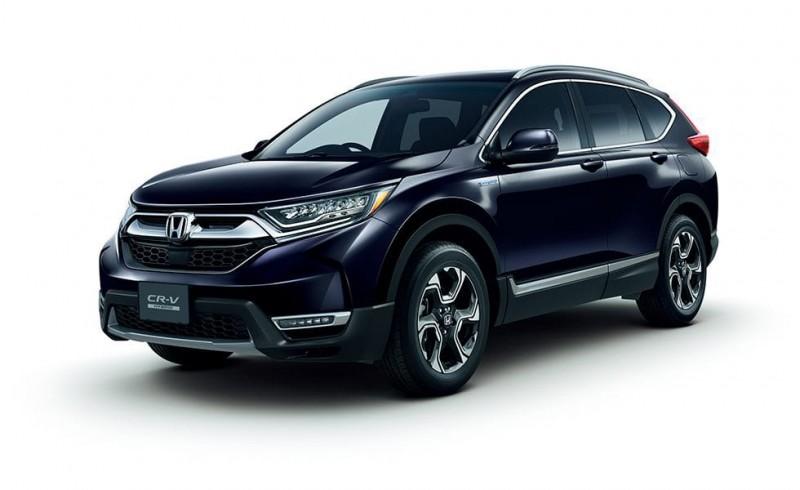 Honda CR-V Hybrid 4WD dan Turbo Resmi Dipasarkan di Jepang