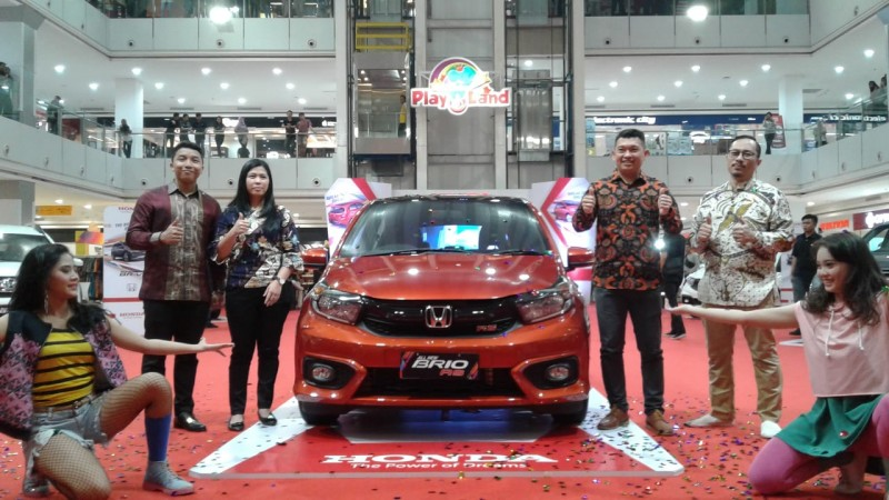 Honda Lampung Raya Gelar Lomba Review All New Brio