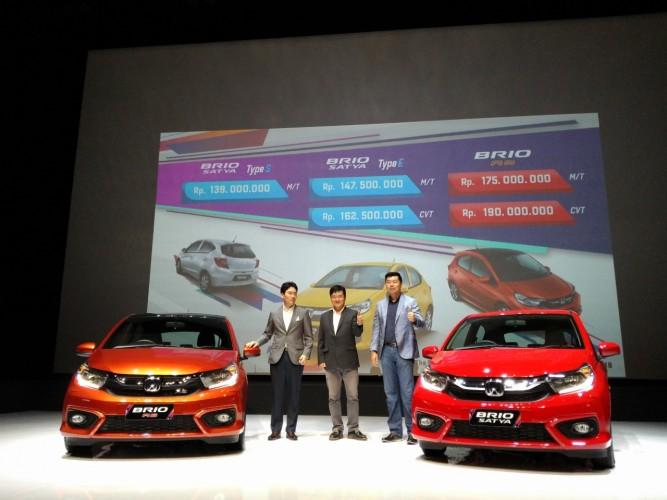 Honda Resmi Umumkan Harga All New Brio