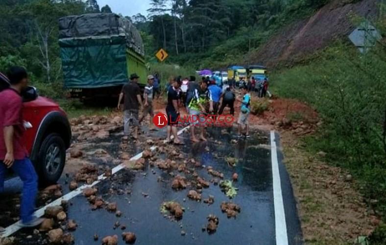 Hujan Deras di Pesisir Barat Timbulkan Bencana Banjir dan Longsor