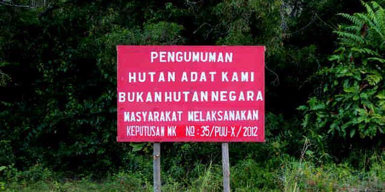 Masyarakat Adat dalam Menjaga Lingkungan