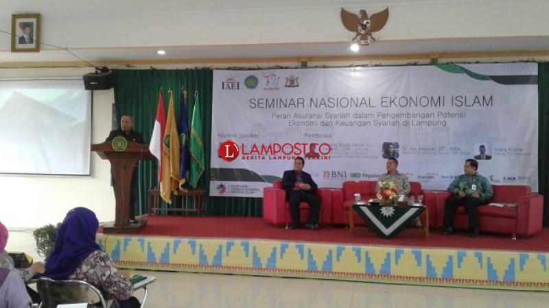 IAEI Angkat Potensi Asuransi Syariah di Lampung
