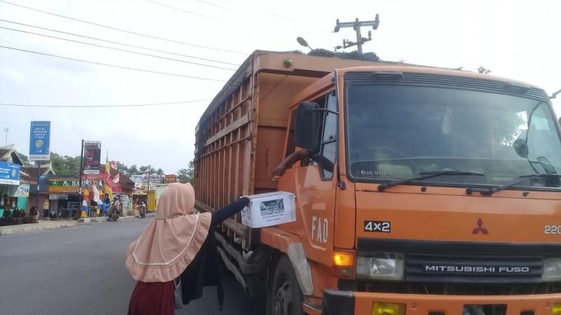 IMM Lampura Galang Dana Bencana Gempa Lombok