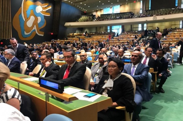 Indonesia Terpilih Jadi Anggota DK PBB Wakili Asia dan Pasifik