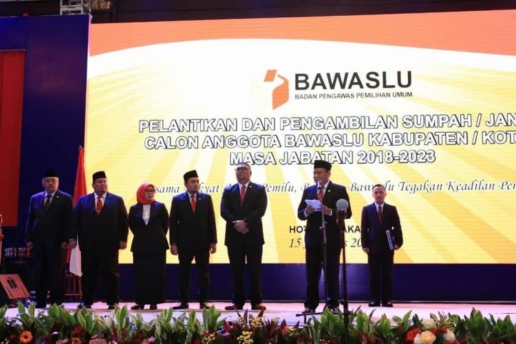 Ini Daftar Lengkap Jajaran Bawaslu 15 Kabupaten/Kota di Lampung