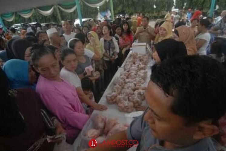 Ini Jadwal dan Daftar Lokasi Pasar Murah Tahap Pertama di Bandar Lampung