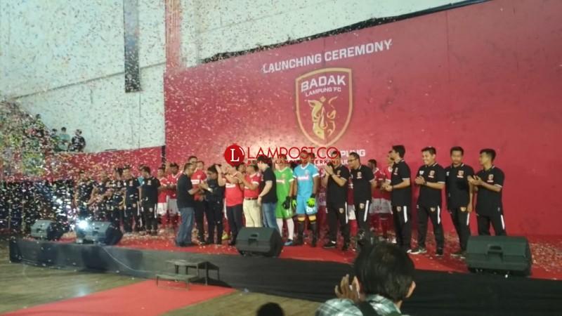 Ini Komposisi Skuat Badak Lampung FC dalam  mengarungi Liga 1