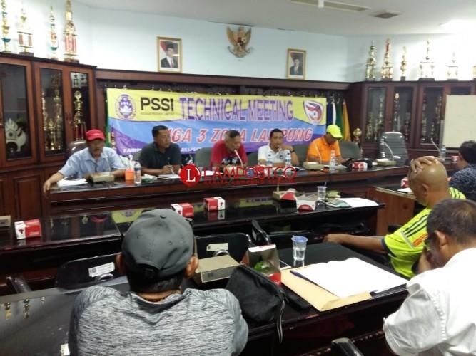 Ini Pesan Bidang Pertandingan Asprov Kepada Peserta Liga 3 Zona Lampung