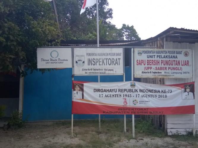 Inspektorat Cek Pembangunan Pekon di Pesisir Barat