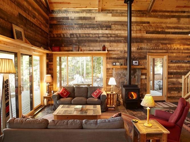 Interior Unik Berkonsep Natural