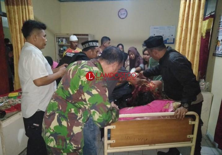 IRT di Rawajitu Timur Tewas Penuh Sabetan Senjata Tajam