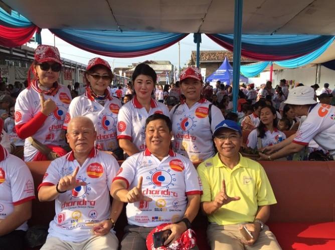 Jalan Sehat Yayasan Insan Damai Merajut Persaudaraan Umat Beragama