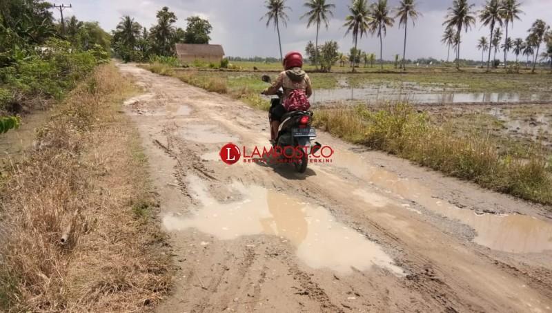 Jalan Utama Pulautengah akan Diperbaiki Tahun ini