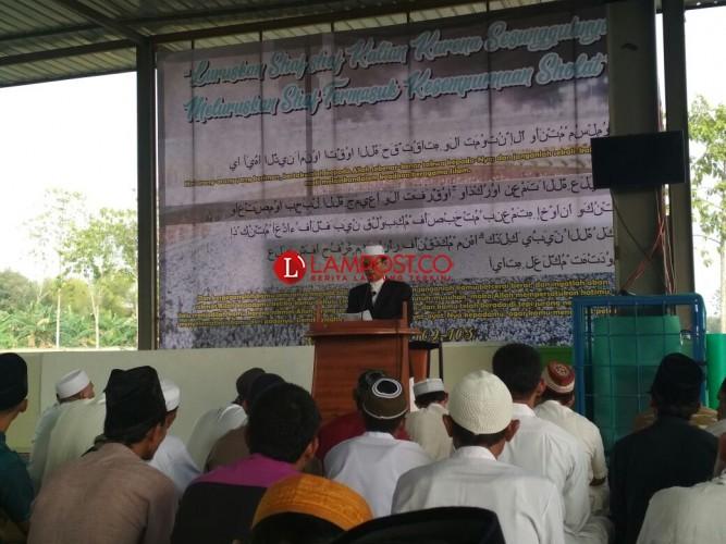 Jamaah Muslimin dan Warga di Sukarame Laksanakan Salat Iduladha
