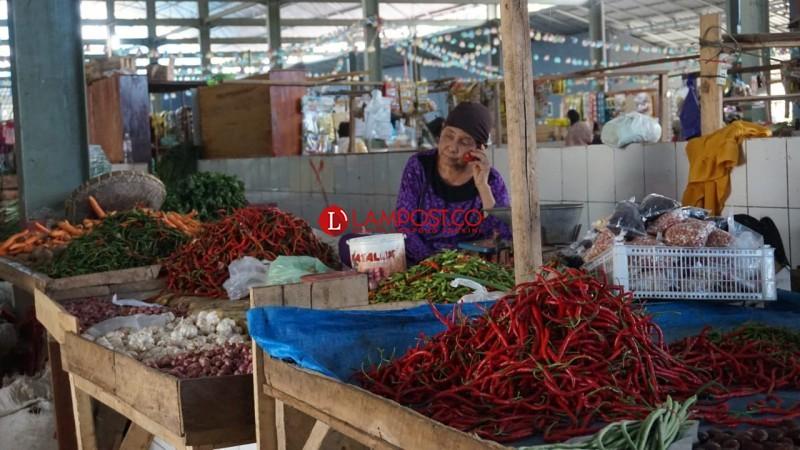 Jelang Lebaran, Harga Sayuran di Lampung Selatan Meroket
