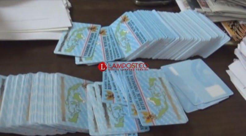 Jelang Pemilu, Disdukcapil Bandar Lampung Percepat Perekaman dan Pembagian KTP-El