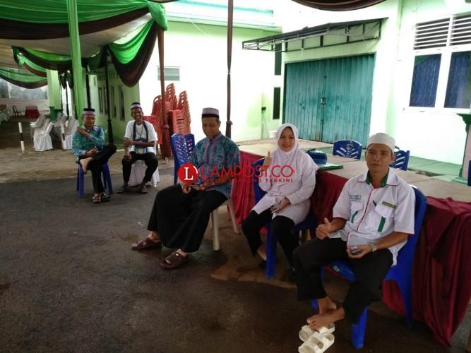 Jemaah Calon Haji Kloter 11 Asal Lamteng Diberangkatkan Besok Pagi
