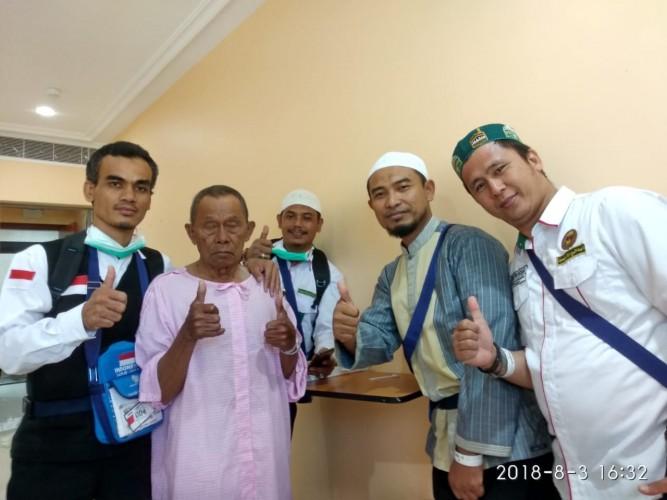 Jemaah Haji Tuba yang Sempat Dirawat di Jedah Sudah Kembali Pulih