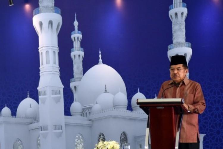 JK Tegaskan Masjid Bukan Tempat Kampanye