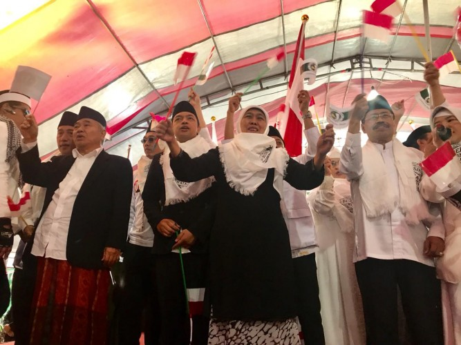 JKSN Targetkan Jokowi-Makruf Menang di Taiwan